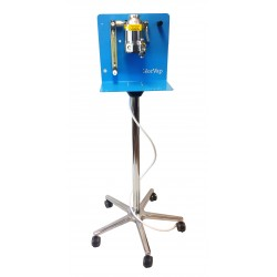 Anesthetic machine with movable stand