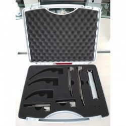 KaWe Laryngoscope set with 4 blades Miller 0-1-2-3